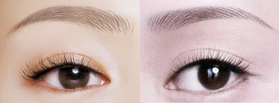 How an Eyebrow Embroidery using a Good Grade Pigment should turn out to be.