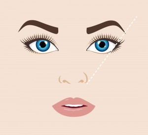 best eyebrow shape diagram